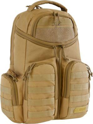 Highland Tactical Strike Heavy Duty Tactical Backpack Desert - Highland Tactical Day Hiking Backpacks