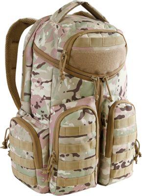 Highland Tactical Strike Heavy Duty Tactical Backpack Camo - Highland Tactical Day Hiking Backpacks