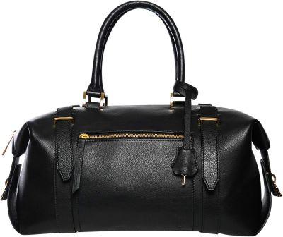Gregory Sylvia Braxton Satchel Black - Gregory Sylvia Leather Handbags