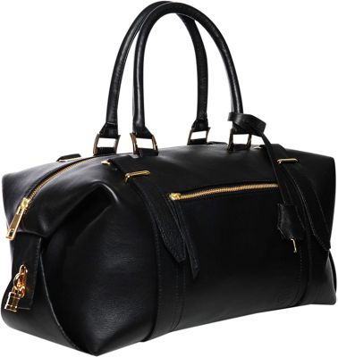 Gregory Sylvia Braxton Satchel Black - Gregory Sylvia Leather Handbags