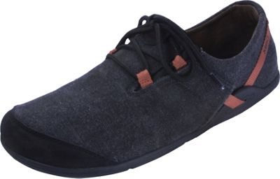 Image of Xero Shoes Ipari Hana Mens Casual Closed-Toe Shoe 8.5 - Black / Rust - Xero Shoes Men's Footwear