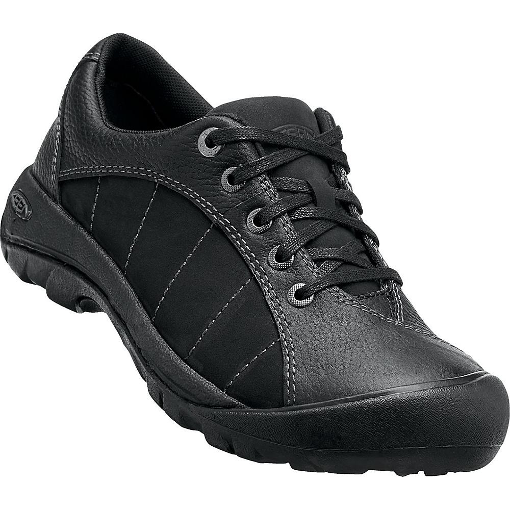 KEEN Womens Presidio Shoe 5.5 - Black / Magnet - KEEN Womens Footwear - Apparel & Footwear, Women's Footwear