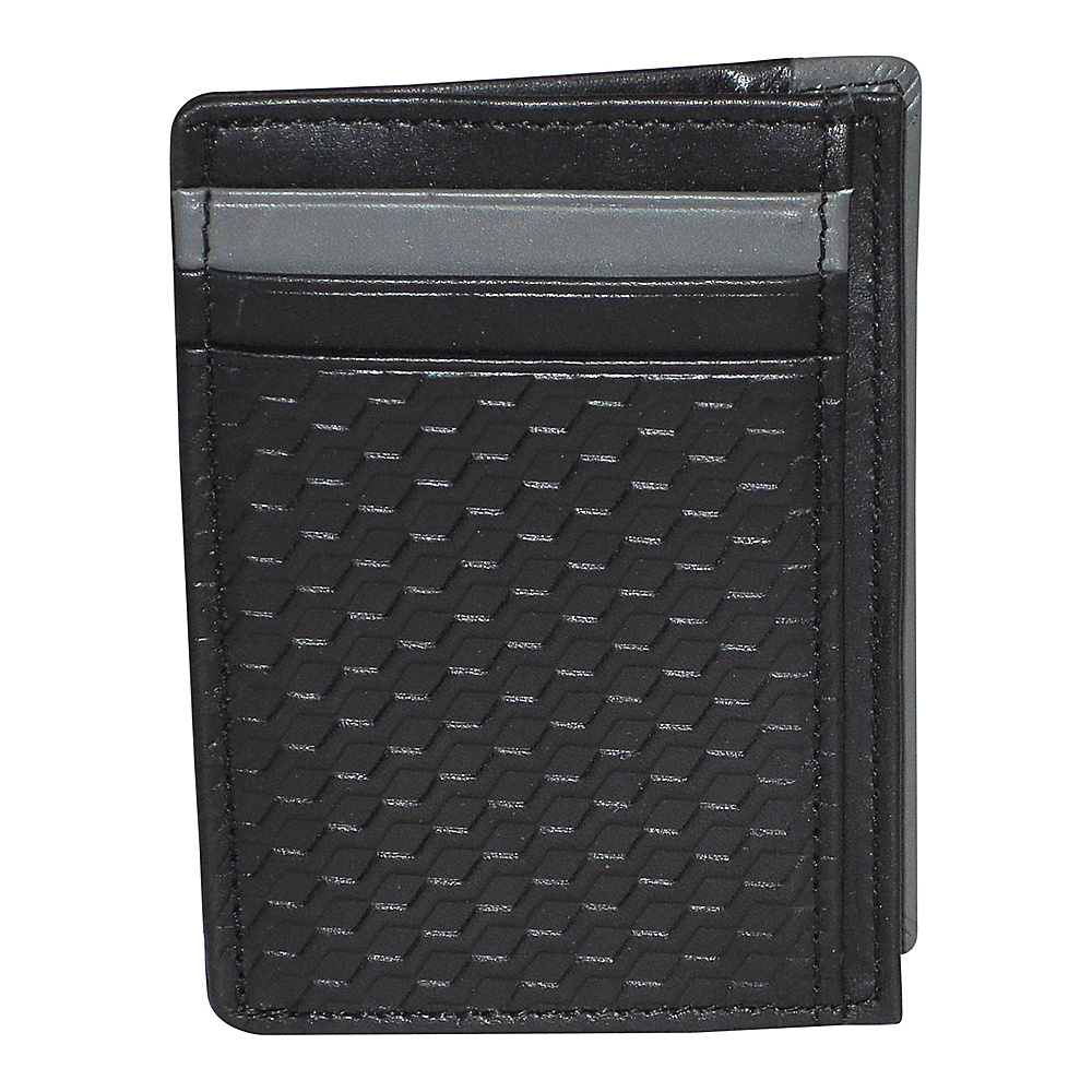 Buxton Bellamy RFID Front Pocket Get-Away Black - Buxton Mens Wallets - Work Bags & Briefcases, Men's Wallets