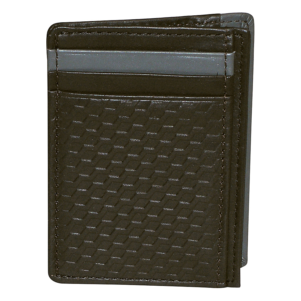 Buxton Bellamy RFID Front Pocket Get-Away Brown - Buxton Mens Wallets - Work Bags & Briefcases, Men's Wallets