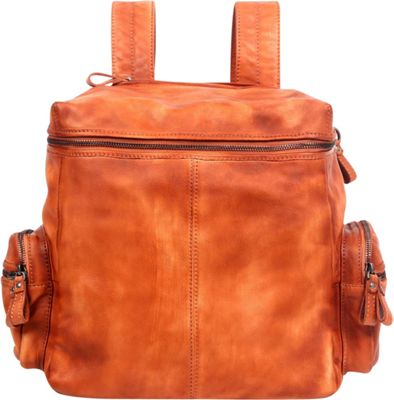 Old Trend Old Trend Spring Lark Backpack Chestnut - Old Trend Leather Handbags