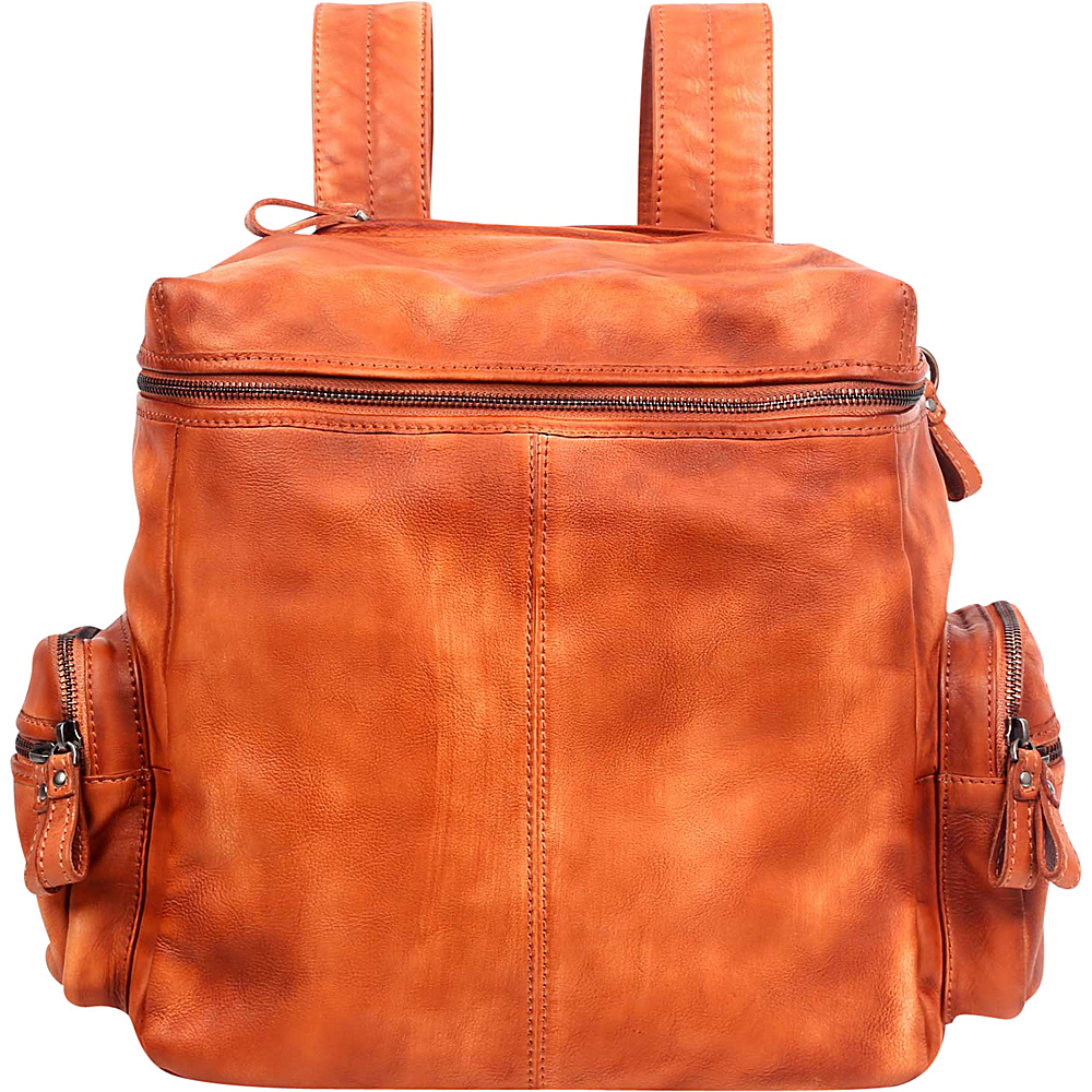 Old Trend Spring Lark Backpack Chestnut Old Trend Leather Handbags