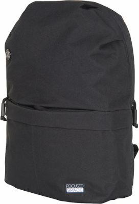 Focused Space The Seamless 600 Series Backpack Black - Focused Space Everyday Backpacks