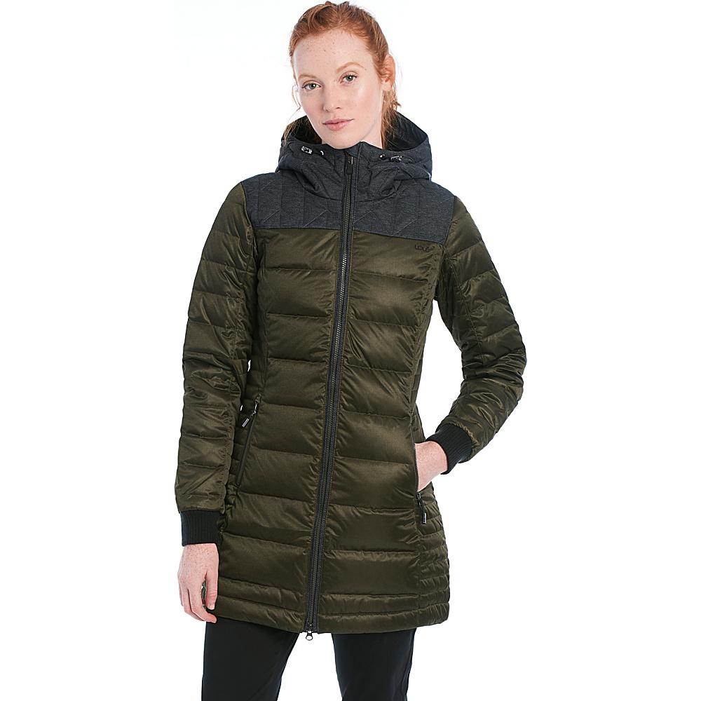 Lole Faith Jacket S - Forest Heather - Lole Womens Apparel - Apparel & Footwear, Women's Apparel