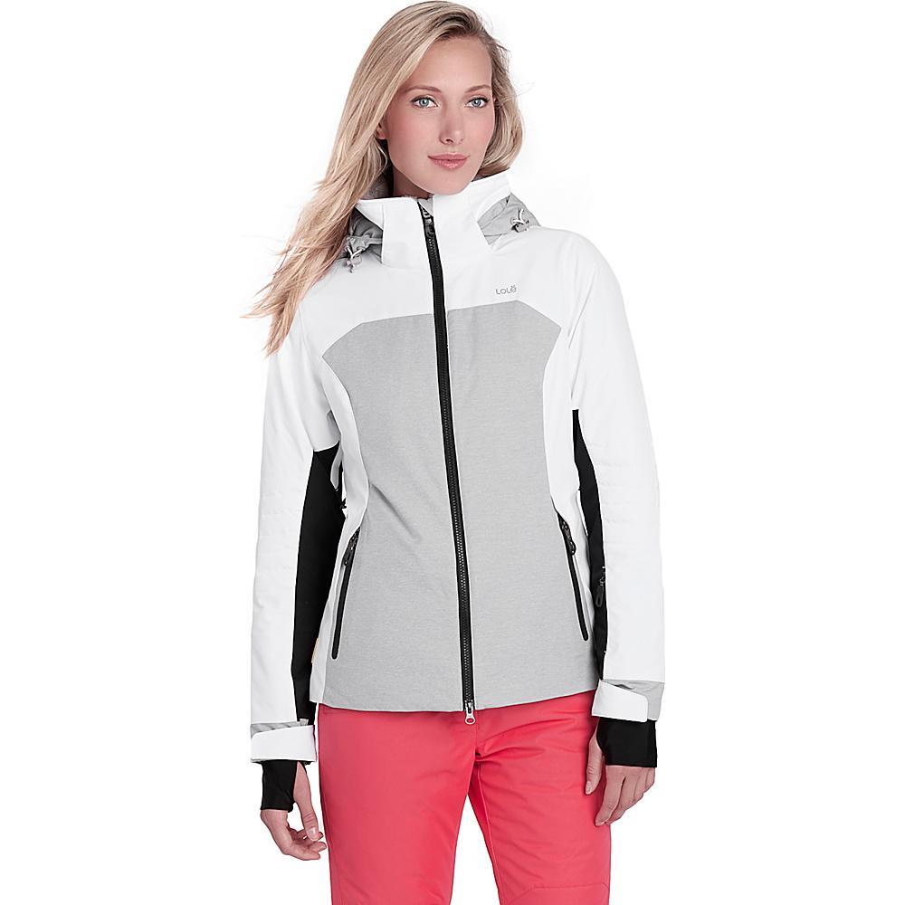 Lole Lea Jacket M - White - Lole Womens Apparel - Apparel & Footwear, Women's Apparel