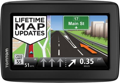 TomTom VIA 1515M GPS Navigator Black - TomTom Car Travel