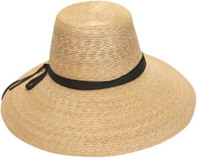 Gottex Cote d'Azur Sun Hat One Size - Natural/Black - Gottex Hats/Gloves/Scarves