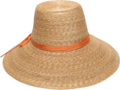 Gottex Cote d'Azur Sun Hat One Size - Natural/Orange - Gottex Hats/Gloves/Scarves