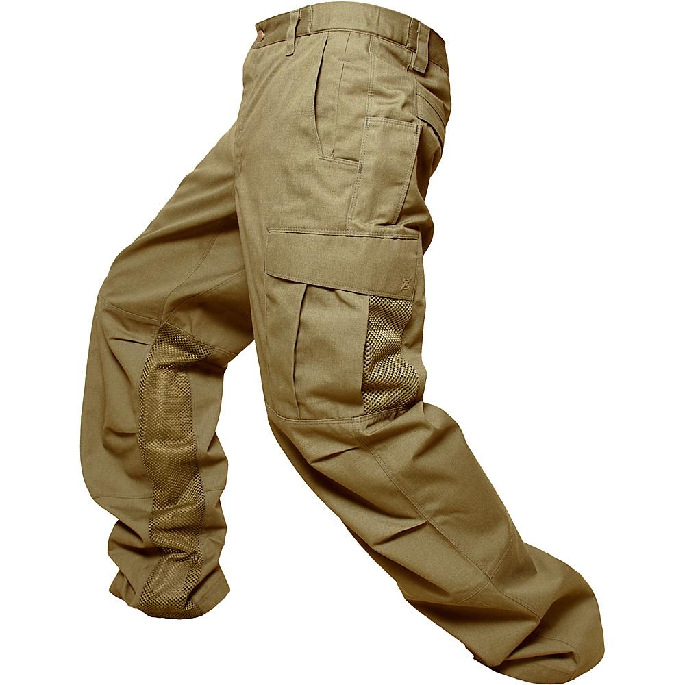 Vertx Phantom Ops Airflow Mens Pant 36 - 34in - Desert Tan - Vertx Mens Apparel - Apparel & Footwear, Men's Apparel