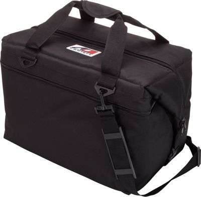 AO Coolers 48 Pack Canvas Soft Cooler Black - AO Coolers Outdoor Coolers