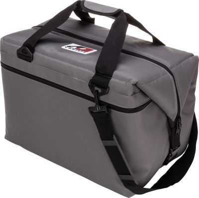 AO Coolers 48 Pack Canvas Soft Cooler Charcoal - AO Coolers Outdoor Coolers