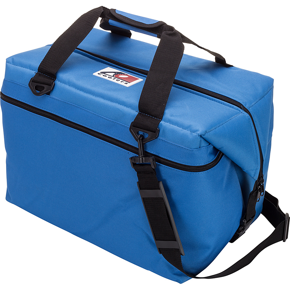 AO Coolers 48 Pack Canvas Soft Cooler Royal Blue AO Coolers Outdoor Coolers