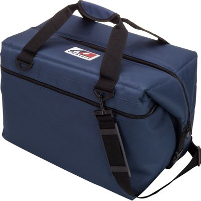 AO Coolers 48 Pack Canvas Soft Cooler Navy Blue - AO Coolers Outdoor Coolers