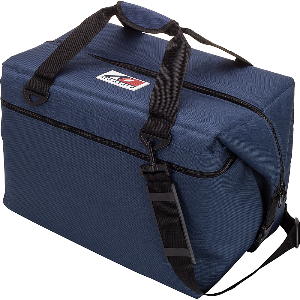 AO Coolers 48 Pack Canvas Soft Cooler Navy Blue AO Coolers Outdoor Coolers