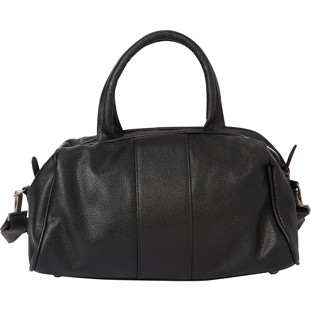 Piel Mini Leather Satchel Black - Piel Leather Handbags - Handbags, Leather Handbags