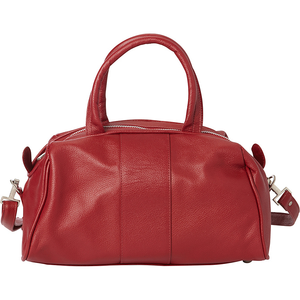 Piel Mini Leather Satchel Red - Piel Leather Handbags - Handbags, Leather Handbags