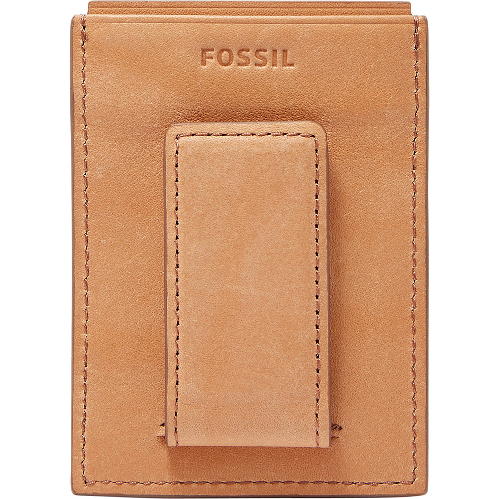 Fossil Ford RFID Card Case Saddle - Fossil Mens Wallets - Work Bags & Briefcases, Men's Wallets