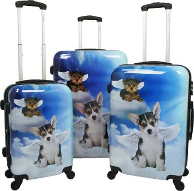Chariot Dream 3 Pc Hardside Spinner Set Dream - Chariot Luggage Sets