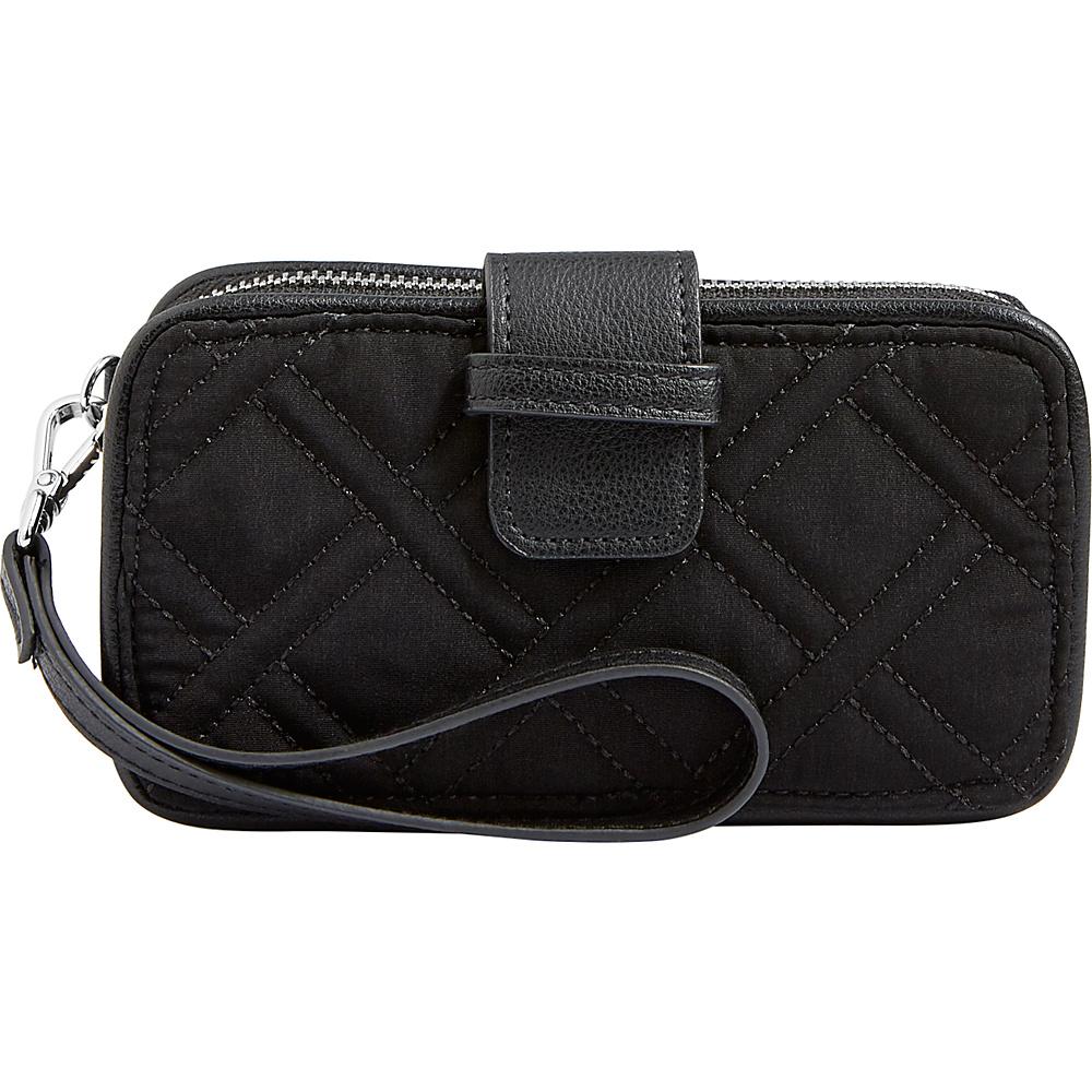 Vera Bradley RFID Smartphone Wristlet - Solid Classic Black - Vera Bradley Womens Wallets - Women's SLG, Women's Wallets