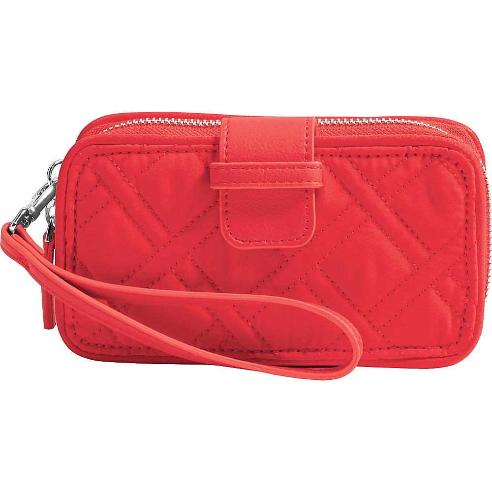 Vera Bradley RFID Smartphone Wristlet - Solid Canyon Sunset - Vera Bradley Womens Wallets - Women's SLG, Women's Wallets