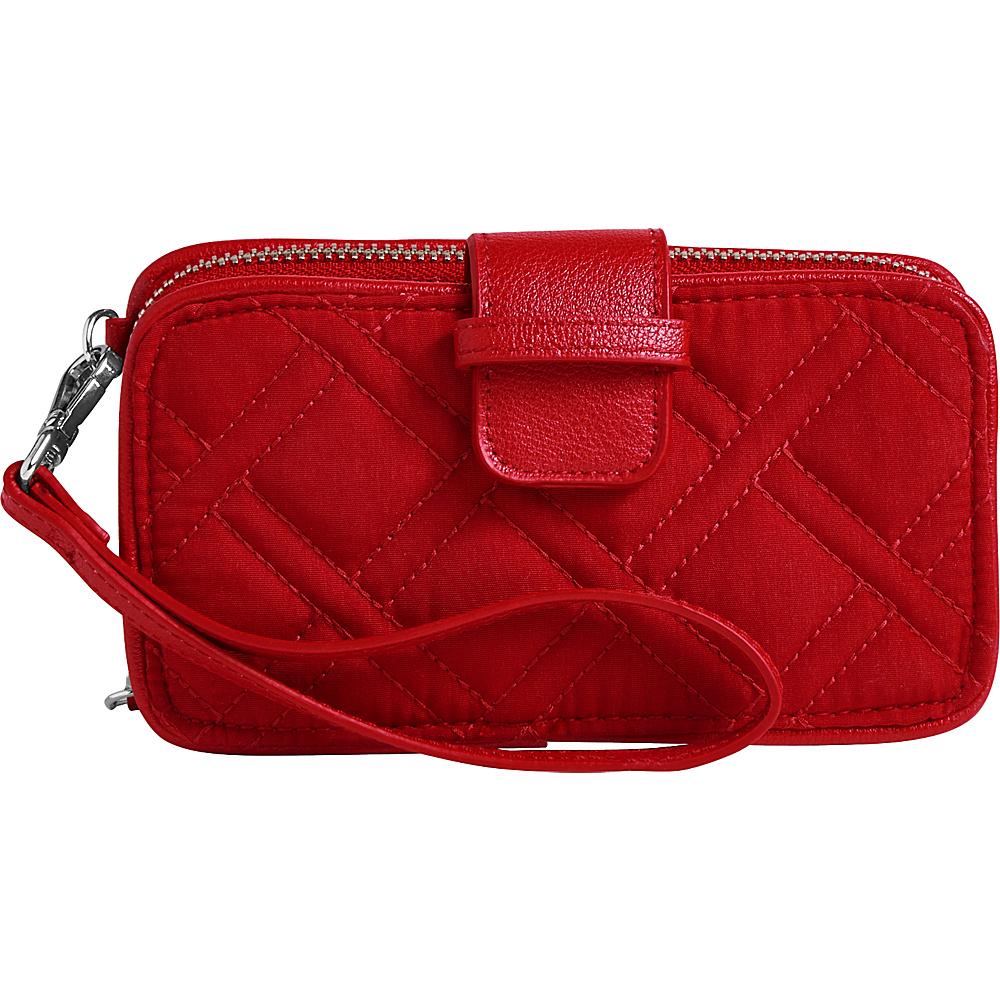 Vera Bradley RFID Smartphone Wristlet - Solid Cardinal Red - Vera Bradley Womens Wallets - Women's SLG, Women's Wallets