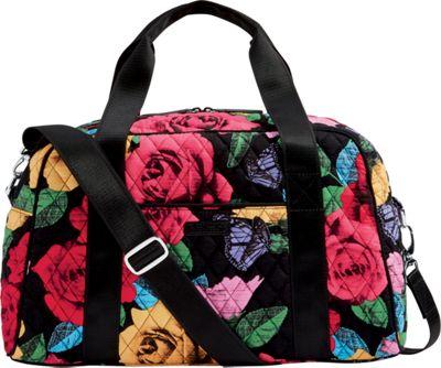Vera Bradley Compact Sport Bag Havana Rose - Vera Bradley Travel Duffels