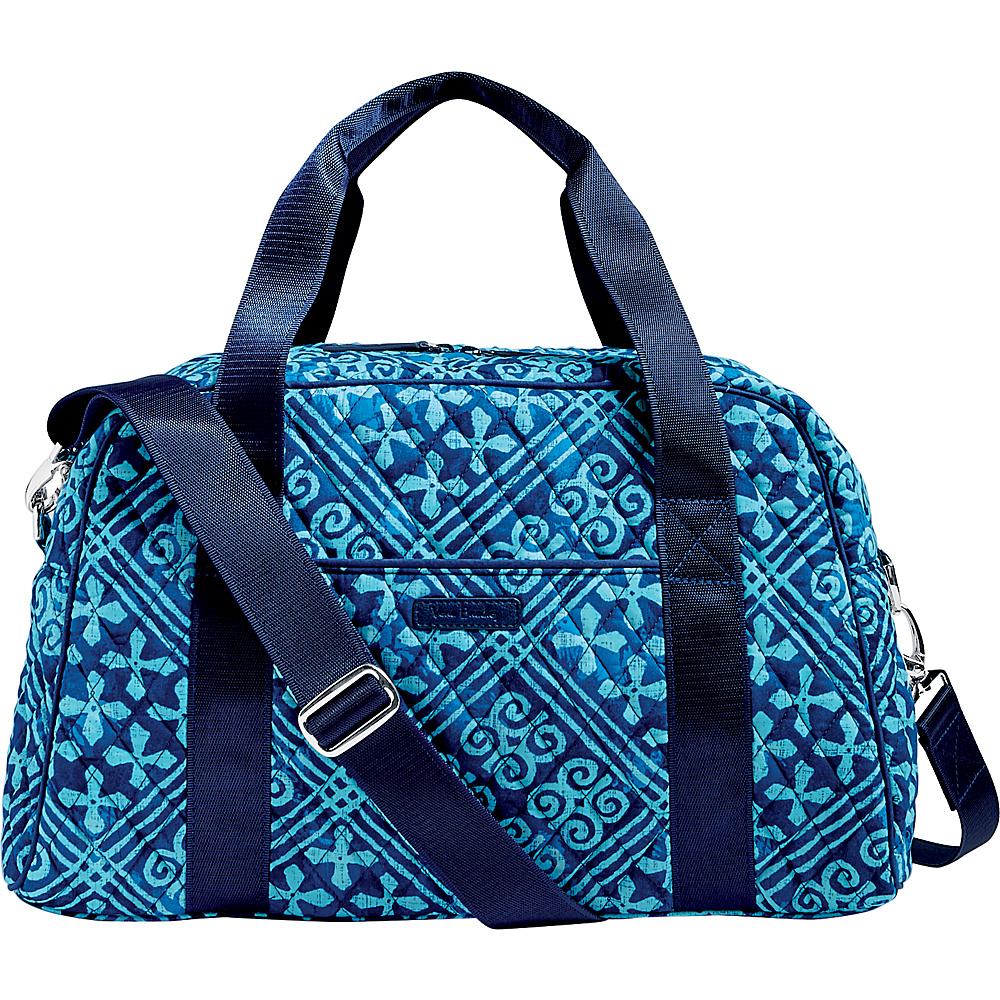 Vera Bradley Compact Sport Bag Cuban Tiles - Vera Bradley Travel Duffels - Duffels, Travel Duffels