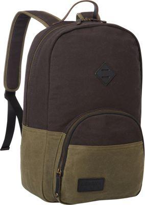 BENRUS Sentry Backpack Black And Olive - BENRUS Business & Laptop Backpacks