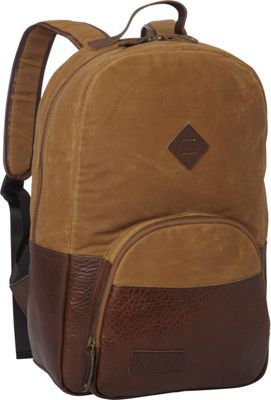 BENRUS Sentry Backpack Brown And Chestnut - BENRUS Business & Laptop Backpacks