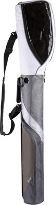 Wellzher Quantum 2 in 1 Sunday Golf Bag Silver - Wellzher Golf Bags