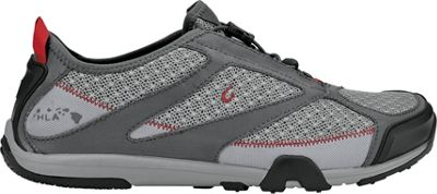 OluKai Mens Eleu Trainer Sneaker 10 - Grey/Dark Shadow - ...