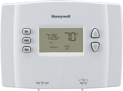 Honeywell 1-Week Programmable Thermostat White - Honeywell Smart Home Automation