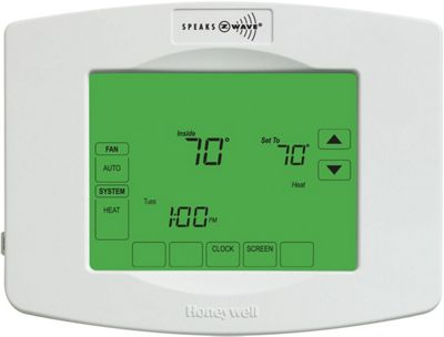 Honeywell Z-Wave Enabled Programmable Thermostat White - Honeywell Smart Home Automation