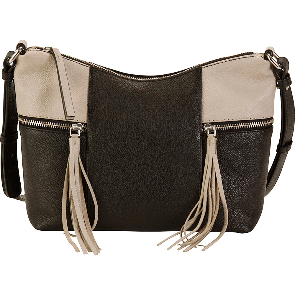 Hadaki Urban Edge Crossbody Pearl Gray - Hadaki Leather Handbags - Handbags, Leather Handbags
