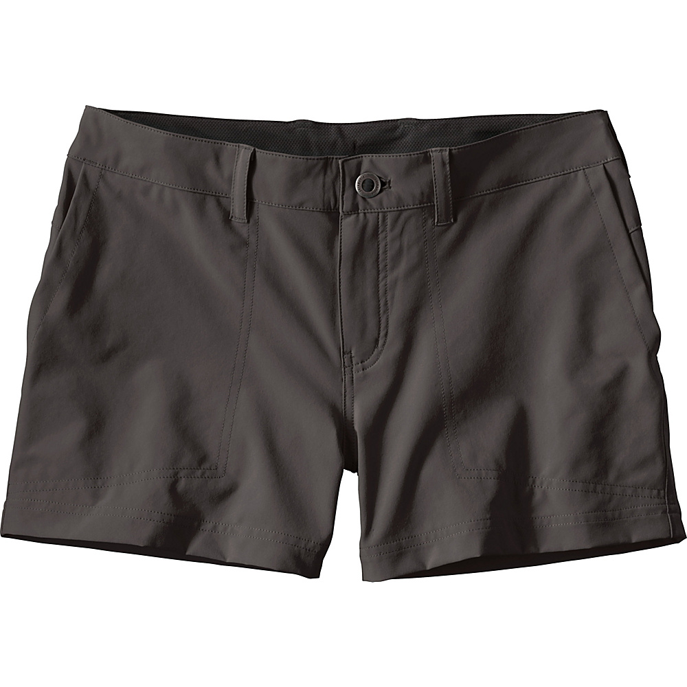 Patagonia Womens Happy Hike Shorts 10 - 5in - Ink Black - Patagonia Womens Apparel - Apparel & Footwear, Women's Apparel