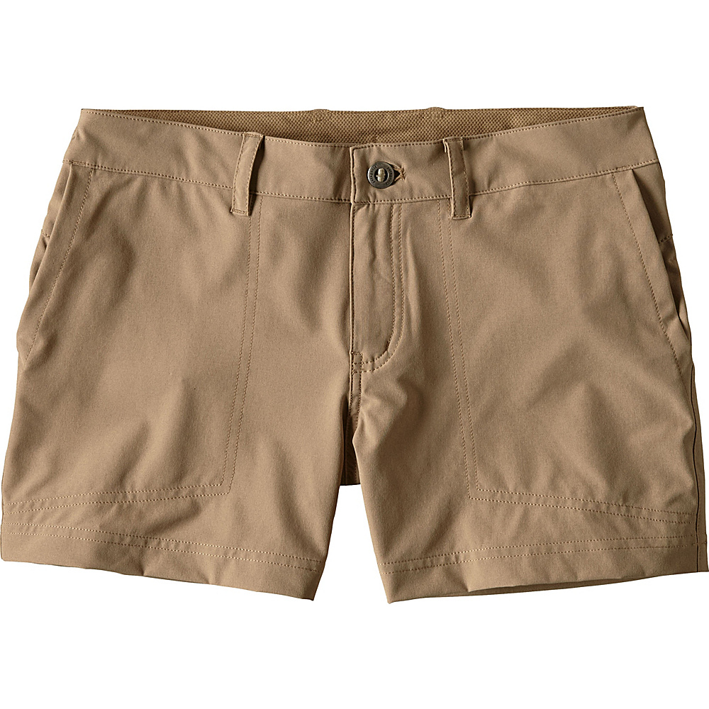 Patagonia Womens Happy Hike Shorts 0 - 5in - Mojave Khaki - Patagonia Womens Apparel - Apparel & Footwear, Women's Apparel