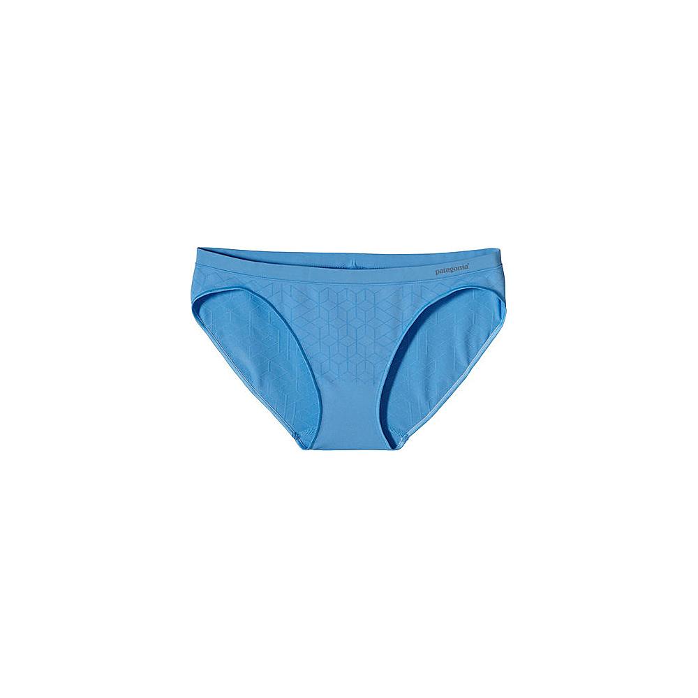 Patagonia Womens Barely Bikini S - Geo Diamond: Big Sur Blue - Patagonia Womens Apparel - Apparel & Footwear, Women's Apparel