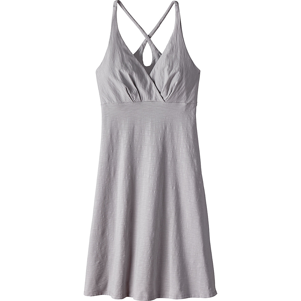Patagonia Womens Amber Dawn Dress M - Drifter Grey - Patagonia Womens Apparel - Apparel & Footwear, Women's Apparel
