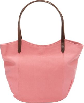 Rhombus Canvas Muji Tote Flamingo Pink - Rhombus Canvas Fabric Handbags