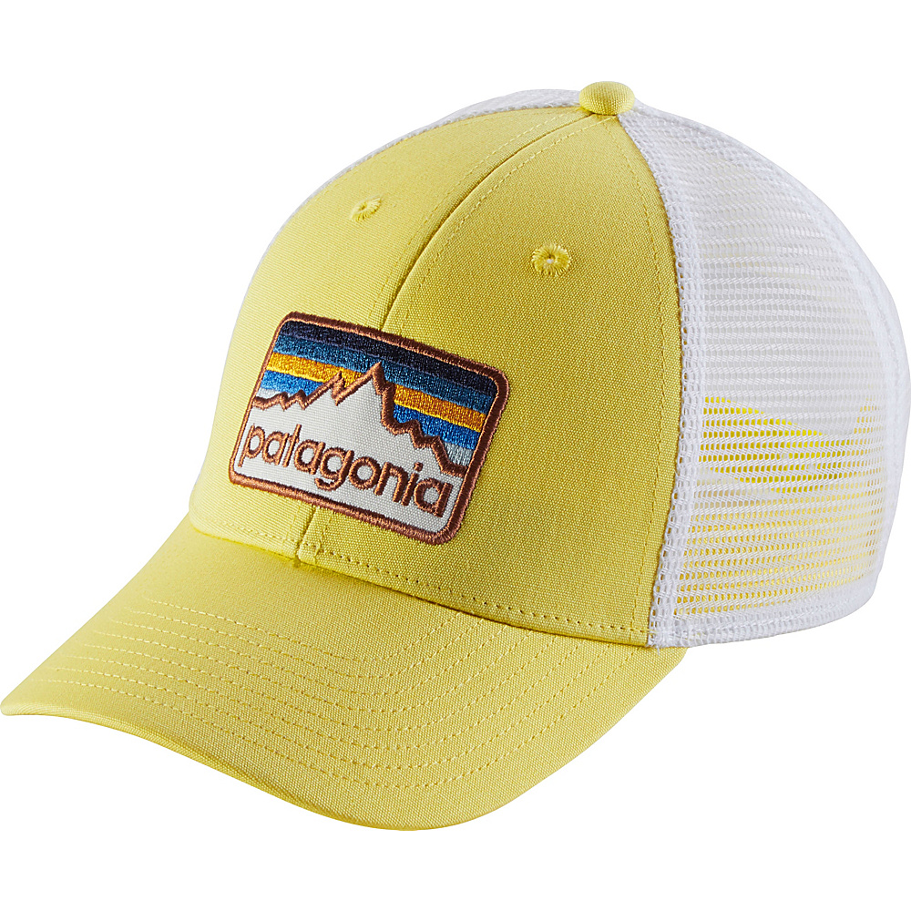 Patagonia Line Logo Badge LoPro Trucker Hat One Size - Yoke Yellow - Patagonia Hats/Gloves/Scarves - Fashion Accessories, Hats/Gloves/Scarves