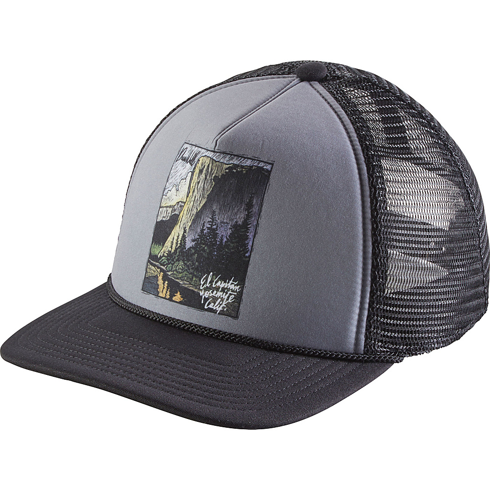 Patagonia El Cap Classic Interstate Hat One Size - Black - Patagonia Hats/Gloves/Scarves - Fashion Accessories, Hats/Gloves/Scarves