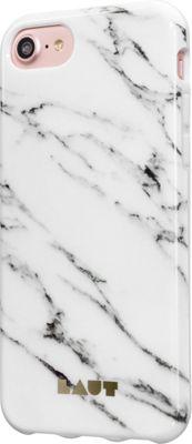 LAUT iPhone 7 Huex Elements Case Marble White - LAUT Electronic Cases