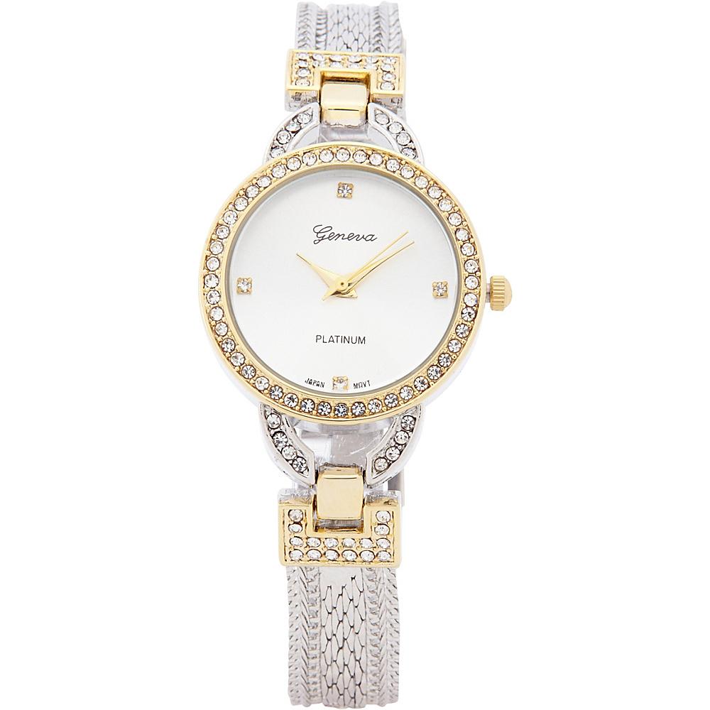 Samoe Bracelet Watch Two Tone Samoe Watches