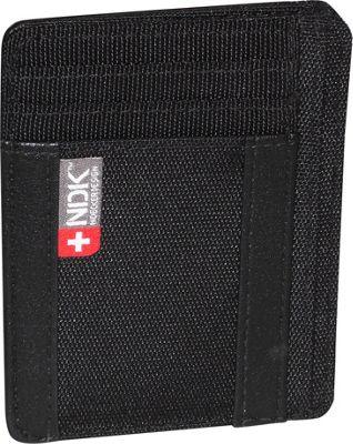 Nidecker Design Capital Collection I. D. Front Pocket Wallet Black - Nidecker Design Men's Wallets