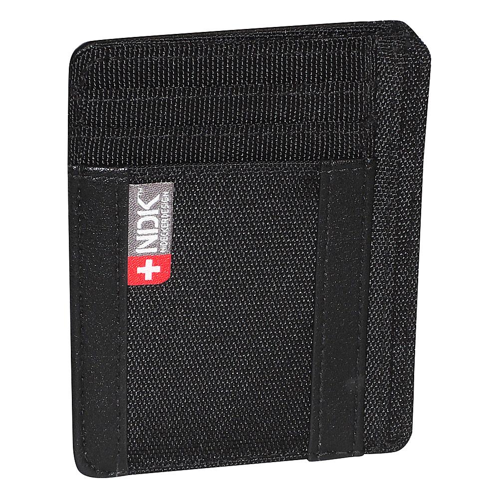 Nidecker Design Capital Collection I. D. Front Pocket Wallet Black Nidecker Design Men s Wallets