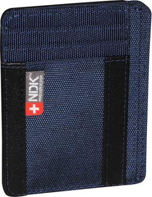 Nidecker Design Capital Collection I. D. Front Pocket Wallet Indigo - Nidecker Design Men's Wallets
